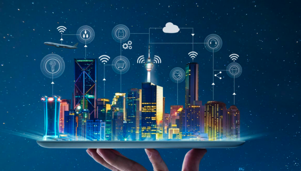Industrial 4.0 revolution, smart cities
